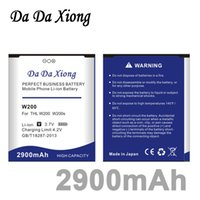 Wholesale thl batteries - Da Da Xiong 2900mAh W200 Battery for THL W200 w200s W200C Phone