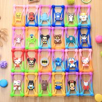 """Wholesale Wholesale 3d Cell Phone Cases - Universal 3D Cartoon Silicone Cover 3""""-6"""" Bumper Case For Iphone 7 7plus 6 6s Plus 3D Cell Phone Case Soft Cover"""