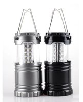 Wholesale Dhl Lantern - New Portable Lanterns Bright Collapsible 30 LED Lightweight Camping Lanterns Light for Camping,Hiking,Fishing,Emergencies DHL free