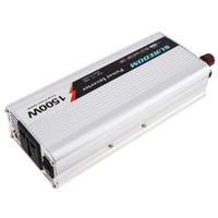12v electronica al por mayor-1500W DC 12V 24V a CA 220V 110V USB Cargador de energía portátil Convertidor de automóvil Inversor para productos electrónicos Sugar Power 3000W CEC_62M