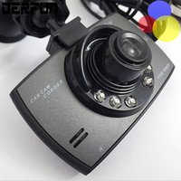 Wholesale motion memory - Car dash cams hd car dvr 2.4'' camera cam recorder 720p dashcam with 6 fixed focus lens