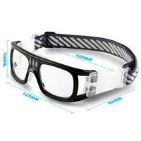 Wholesale Protective Soccer Glasses - Wholesale- 2017 Protective men Sports Goggles Eyewear Glasses Gafas Oculos for Basketball Soccer Rugby Football Tag Eyeglasses