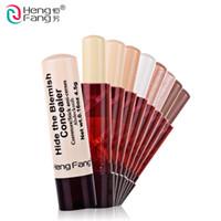 ingrosso trucco truffa-HengFang Lady Makeup Tool Pen correttore Nascondi il Blemish Cream Concealer Stick Lip Style 4.5 g # H8457