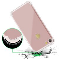 Wholesale Soft Silicone Handbag For Iphone - Soft TPU Silicone Clear Cases For IPhone X 8 7Plus 6S Anti Shock For Galaxy Note 8 S8 S7 Edge Oneplus Moto LG