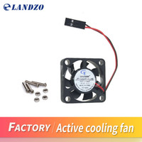 Wholesale Best quality Raspberry Pi Active Cooling Fan for Acrylic Case V plug in and play Support raspberry pi model B Plus B d printer
