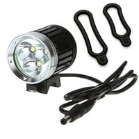 Wholesale Cycling Head Torch - 4000 Lumen Waterproof Led Bicycle Light 3 x CREE T6 Bicycle Led Headlight 4 Working Mode Cycling Torch Front Head Lamp Wholesale