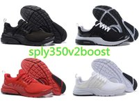 Wholesale Fine Lighting - No box Original Air Presto BR QS Women Men Running Shoes Fine Mesh Mesh Breathable Cheap Sneaker Red Blue Triple White Black Fall Olive