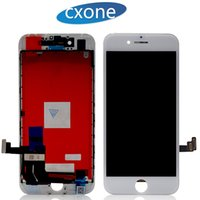 Wholesale Complete Iphone Screen - Grade AAA LCD Display Touch Digitizer Complete Screen Full Assembly Replacement for iPhone 7 7G Plus with Frame Free DHL