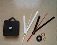 faire des horloges achat en gros de-Mode Nouvelle Montre Chaude Accessoires Horloge Murale Noyau Simple Mécanisme À Quartz BRICOLAGE Faire Réparation Remplacer Pièces Kit