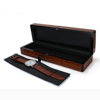 Wholesale Jewellery Boxes For Watches - Wood Box Gift Packaging Wooden Watches Box for Wristwatch Jewellery Storage Case