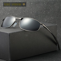 солнцезащитные очки для мужчин оптовых-Старинные металлические спортивные солнцезащитные очки для мужчин и женщин мужской бренд поляризовать солнцезащитные очки велосипед солнцезащитные очки Гольф держатель автомобиля свободный корабль фарфора горячей продажи