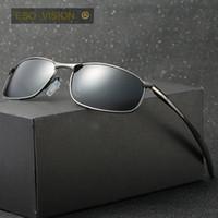 ingrosso porcellana di occhiali da sole di marca-Occhiali da sole sportivi vintage in metallo per uomo e donna. Occhiali da sole polarizzati da uomo. Occhiali da sole per occhiali da sole