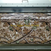 Chasse Mousseux Pas Cher-Mossy Oak RealTree Camouflage Car Vinyl Wrap Nature Hunting Air Bubble Free Pour Camo Car Vinyl Wrapping Film Sticker