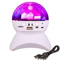 Wholesale Wholesale Dj Speakers - Party  Disco DJ Bluetooth Speaker With Built-In Light Show,Stage & Studio Effects Lighting, RGB Color Changing, LED Crystal Ball