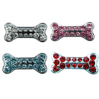Wholesale Dog Collar Charm Accessories - Free Shipping Wholesale Pet accessories Dog Application Charms 10MM Slider Decoration for DIY Personalized Pet Cat Collars