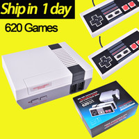 Wholesale Wholesalers For Handheld Consoles - Mini TV Video Handheld Game Console Entertainment System Built-in 500 600 620 Classic Games For Nes Games PAL NTSC OTH002