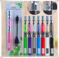 kit de vaporizador electrónico ego ce4 al por mayor-UGO CE4 kits de inicio CE4 cigarrillos electrónicos Blister kits e cig vape pens 650mah UGO-T ego 510 hilo batería usb vaporizador de paso
