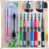 elektronisches vaporizer ego ce4 kit großhandel-UGO CE4 Starter-Kits CE4 elektronische Zigaretten Blister-Kits und Zigarettenstifte 650mAh UGO-T Ego 510 Faden Batterie USB Passthrough Vaporizer
