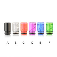 Wholesale Ce4 Ohm - 510 EGO Plastic drip tips Mouthpiece transparent Colorful Spiral Drip Tip for CE4 EGO 510 Thread Sum ohm Thank Atomizer Box mods DHL