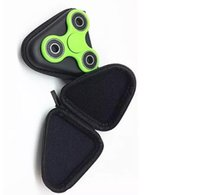 Wholesale 2017 New Fidget spinner Bag Box Case Spinning Toys Bags Earplugs USB data cable packing box