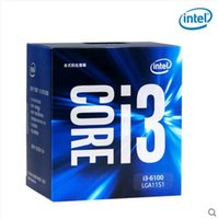 Compra Core I3 Cpu-Intel i3-6100 sei generazioni di processore di CPU cassa in cima 1151 pin