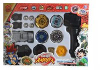 Wholesale beyblade metal masters sets online - Super Battle New style Super top toy Metal Fight Beyblade New beyblade toy set metal masters dolls