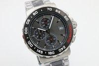 Wholesale formula brands - hot sale luxury brand watches men formula 1 two tone stainless watch chronograph quartz movement watch mens dress watches