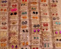 freie nagel großhandel-Art-Art- und Weisebolzen-Ohrring-Nagel der Mischungs-12Pairs / lot für Geschenk-Fertigkeit-Schmuck-Ohrring EA030 * Free Shipping