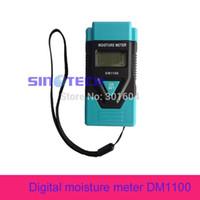Wholesale Concrete Moisture - Wholesale- Digital wood moisture meter DM1100 concrete paper digital moisture meter