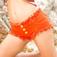 Bikini Donne Sexy Vintage Denim Boot Disco Super Shorts Femminile Low Vita Micro Mini Tassel Short Femme