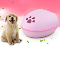 Wholesale Egg Beds - 48*39*23Cm Removable Washable Dog Bed Creative Design Egg Shape Dog House Felt Touch Pet Houses For All Seasons Heat Insulation Thermal