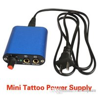 Wholesale x Mini Tattoo Power Supply For Needles Grips Practise Skin Tips Tattoo Kit High Quality