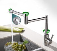Wholesale The sink Faucet Premium quality stainless steel Folding Rotate multiple angles Wash the dishes faucet