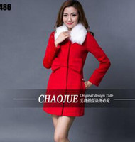 Wholesale Women Elegant Woolen Dresses - Women in the spring and autumn fashion leisure elegant handsome show thin toast dress cloth trench coat   S-XL