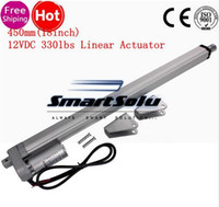 Wholesale Dc Electric Linear Actuator - Electric Linear Actuator 12v DC Motor 450mm Stroke Linear Motion Controller 4mm s 1500N Heavy Duty Lifter