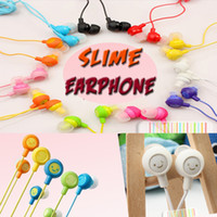 Wholesale Smile Headphones - Fruit Smile Earphone Universal 3.5mm In Ear Headphones Earphones Handfree Headsets Compatiable With SmartPhone For Iphone 6 Samsung Ipad