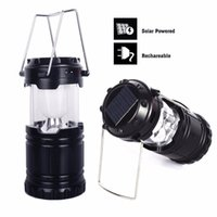 Wholesale Dynamo Led Camping Lantern - Wholesale-Portable Hiking Lantern Outdoor Water Resistant USB Rechargeable Hand Crank Solar Dynamo Light for Hiking Camping Emergency