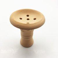 Wholesale Chinese Bowl Ceramic - Chinese Five thousand years of burning ceramic technology Hookah Bowl Smoking Accessories Carbon Stove Heat Keeper Shisha Bowl