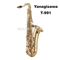 Wholesale Curved Soprano - wholesale Free Shipping Yanagisawa Tenor Saxophone B T-991 Curved Soprano Baritone Alto Mouthpiece Musical Instruments Professional Sax