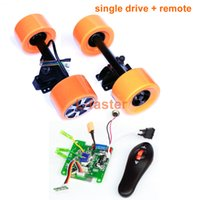 Wholesale Cheap Skateboard Wheels - Electric Skateboard Hub Motor Wheel Kit With Remote Cheap Solution For DIY Electric Skate Board Engine For Electric Longboard