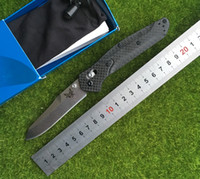 Wholesale High Quality Folding Knife Brands - High quality carbon fiber copper butterfly brand S90V steel shaft folding washer hunting outdoor camping survival EDC fruit knife tools in h