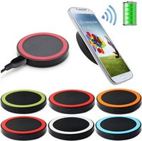 Wholesale Qi 5v - Universal 5V 1A Fast Qi Wireless Charger Charging Transmitter Power Adapter Pad For Samsung LG Nexus Smart Phone with retail box Free DHL