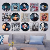 Wholesale Boys Wall Art Stickers - Wall Stickers for Teen Boys Crafts Decoration Wall Murals Bar Painting Cafe Bar Antique Art Wall Sticker Music Decor Pub Decoration