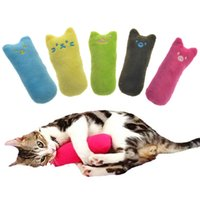 Wholesale Catnip Mice - 5colors Interactive Fancy Catnip Cat Pillow Toy Teeth Grinding Claws For Pets Funny Mini Toys