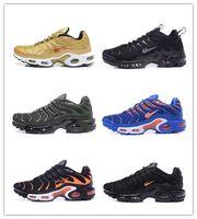 Wholesale Max Tn Sports Shoes - High Quality 2017 Tn Running Shoes Men Running Shoes Cheap Original High Quality Maxes TN Runs Sport Shoes Size 40-46
