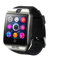 Smart Watch Q18 Bluetooth avec prise en charge de l'appareil photo SIM TF Card Touch Screen Passometer Recordable compatible avec les téléphones Android IOS