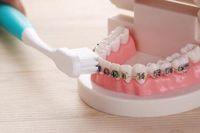 Wholesale Dual Head Toothbrush - 3 Pcs Lot retail drop shipping wholesale U Style health dual adult toothbrush V Shape soft small head teethbrush teeth corrector