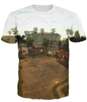 Wholesale grand theft auto resale online - Summer Style Grand Theft Auto Grove Street T Shirt Vibrant Tee Classic T Shirt Fashion Clothing Casual Tops for Unisex Womens Mens