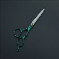 Wholesale Professional Articles - Wholesale- 1 pcs Hair Cutting Thinning Article Upscale Scissors 6.0 inch Japan Barber Shears Salon Professional Hairdressing Scissors