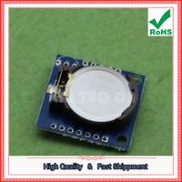 Wholesale Tiny Clock - Free Shipping 5pcs UNO-Ar.duino Tiny RTC I2C Module 24C32 Memory DS1307 Clock Module D5A2
